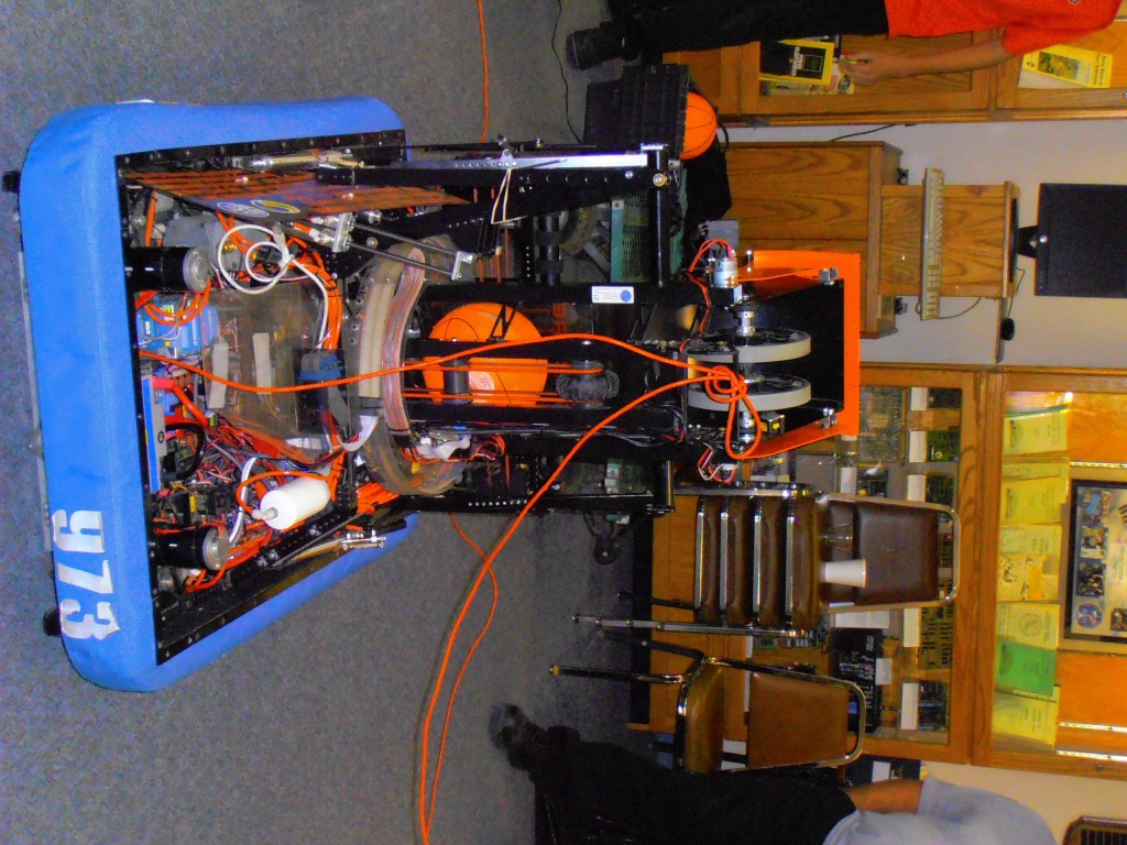 Team # 973 Basketball Robot--Not Quite a Replacement for LeBron