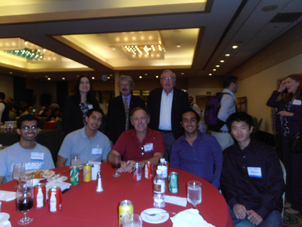 Some of Our IEEE Foothill Team at CLASTECH==Good Technical Talks, Good Luncheon, Good Company