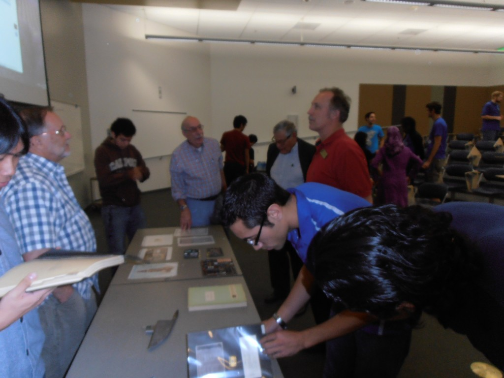 A look at some of the history from the early microprocessor days captives our IEEE Foothill audience