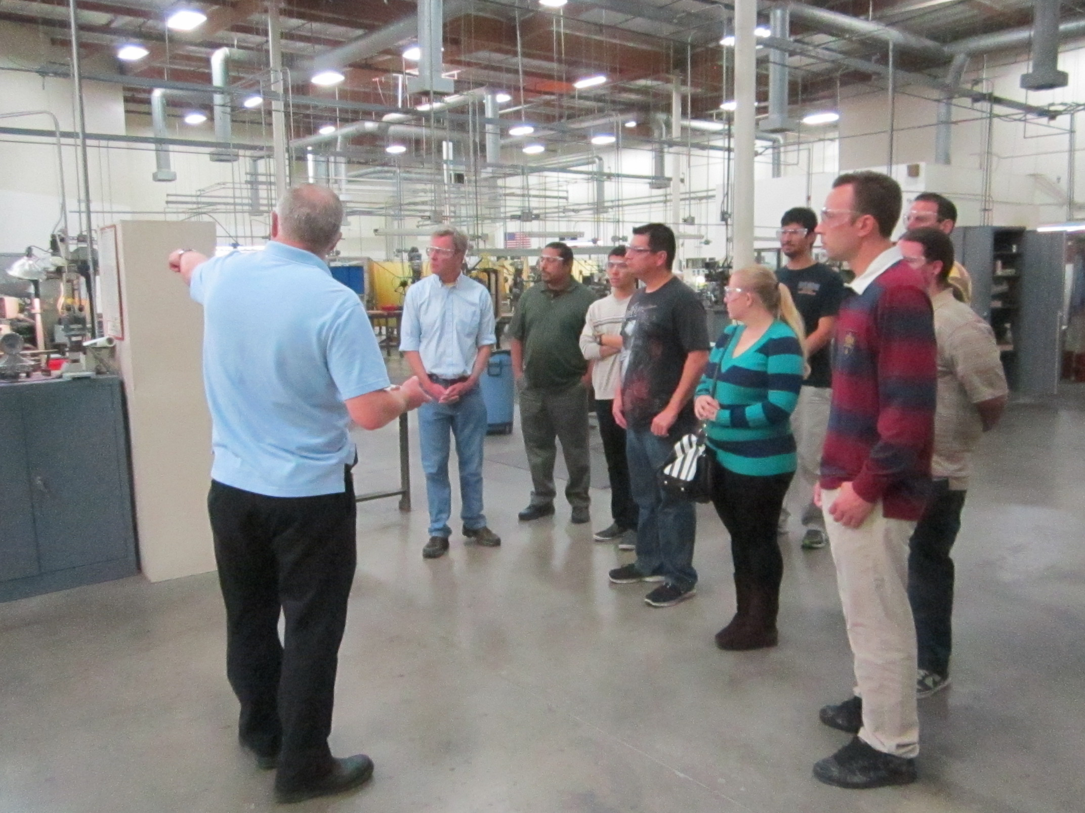 Mt Sac Students Tour And Learn At Maury