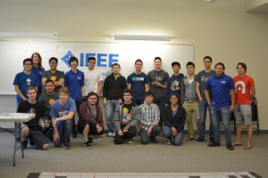 2016 UCR Micromouse Competition. Group Photo 04-03-16